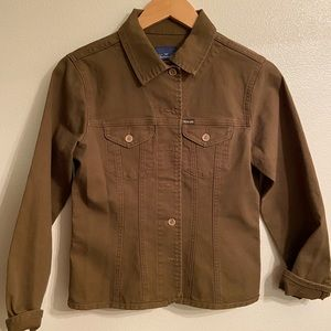 Faconnable brown utility jacket
